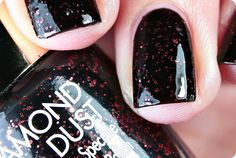 Malý koutek krásy: Pupa Stay Gold! Diamond Dust 001 Glowing Black