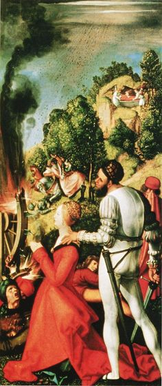 Learn more about Heller-Altar, right wing, scene of the martyrdom of St. Catherine Albrecht Durer - oil artwork, painted by one of the most celebrated masters in the history of art. Altar, Halle, Renaissance, Saint Catherine Of Alexandria, Albrecht Dürer, Fine Art Posters, Landsknecht, Art Database, Office Art