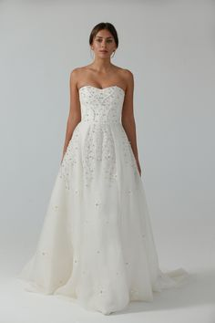 Temperley London Bridal Spring 2017 | #BridalFashionWeek #WeddingDress [Photo: Thomas Iannaccone]