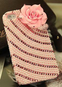 Rose pink Iphone case