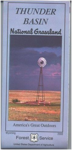 Thunder Basin National Grassland Map  Waterproof >>> You can find more details by visiting the image link.