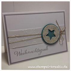 Stempel-Kreativ.de - Kreativ Karten gestalten: Weihnachtskarte Nr. 4 ...