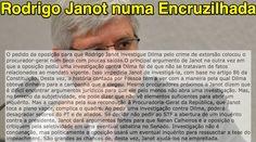 Rodrigo Janot numa Encruzilhada ➤ http://veja.abril.com.br/blog/radar-on-line  ②⓪①⑤ ⓪⑦ ⓪③ #Janot
