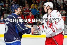 Hockey Bucket List- Attend an All Star Game