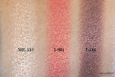 Make Up For Ever Floral Volume 3 Artist Palette Review & Swatches: ME-512, I-804, I-544