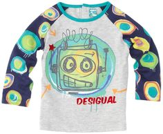 Desigual Baby Boy Robot T-Shirt