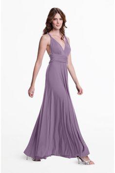 Sakura Dusty Purple Maxi Convertible Dress - Sakura - Convertible Dresses - Shop