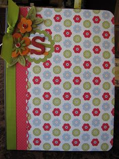 Connie suggested decorated notebooks/journals... (and I do have a bunch of them...)