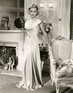 Old Hollywood. Joan Bennett 1935
