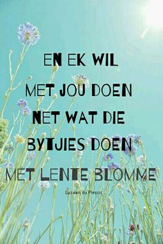 Lenteblomme - Bok van Blerk. Afrikaanse lirieke Music Quotes, Me Quotes, Qoutes, Love Is Cartoon, Baby Boy Knitting Patterns, Afrikaanse Quotes, Long Distance Love, New Perspective, Relationship Quotes