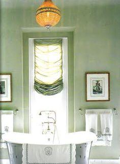 Master Bathroom - traditional - bathroom Farrow & Ball Skylight - Branca, Inc. Farrow Ball, Favorite Paint Colors, Favorite Color, Interior Decorating, Interior Design, Decorating Ideas, Color Interior, Interior Ideas, Decor Ideas