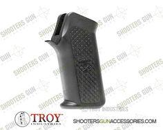 Troy SGRI-AXP-00BT-00 Polymer Black Battle Ax CQB Grip For 223 Rifle