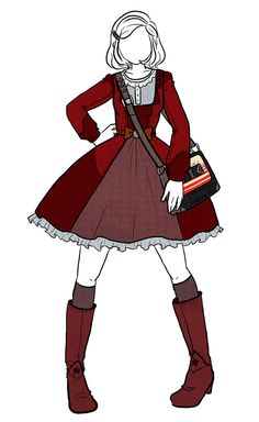 Star-Lord's Costume as a Lolita-Style Dress