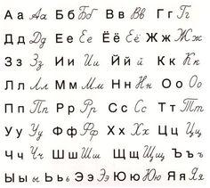 Russian transliteration russkiy yazyk 14