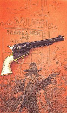 "Moebius/Jean Giraud - ""Colt"" - Stardom Edition,1997"