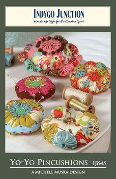 Yo-yo pincushions