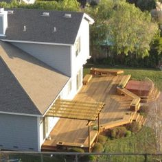 Deck Designs For Small Backyards adeck afford a deck decks decking timber decks wooden decks garden decking features benches timber fences Deck With No Sofa But Wooden Benches For Small Backyard Grabbing Exterior Beauty With Small