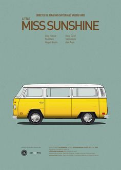 little miss sunshine posters vehicules films Cars and Films : Posters de voitures de films