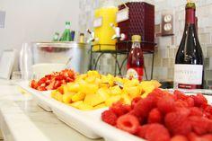 Mimosa Bar...baby shower brunch