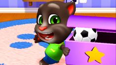 My Talking Tom Friends by Gameplay Walkthrough - iOS Fun To Be One, Have Fun, My Talking Tom, Funny Songs, Virtual Pet, Landscape Mode, Moving In Together, Animal Games, Mini Games