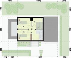 RZUT PODDASZA ORLEAN 5 dom letniskowy z poddaszem House Plans, Floor Plans, How To Plan, House 2, House Plans Design, House Floor Plans, House Design, Floor Plan Drawing, Home Plans