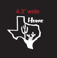 Texas Flag Vinyl Decal By ThePinkHousePress On Etsy Pink House - Vinyl decals houston tx