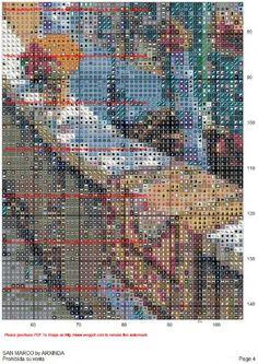 Gallery.ru / Фото #5 - san marco - aysunyurtsever San, Rugs, Gallery, Cross Stitch, Dots, Scenery, Roof Rack, Types Of Rugs, Rug