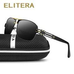 a8c482b3a393 ELITERA 2018 Polarized Sunglasses Men Women Brand Designer Outdoor Sport  Sun Glasses UV400 Driving Fishing