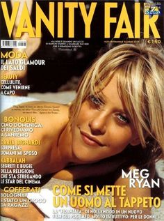 Meg Ryan Now, Female Actresses, Actors & Actresses, Meg Ryan Photos, Harry And Sally, Vanity Fair Magazine, Billy Crystal, Tv Actors, Cellulite