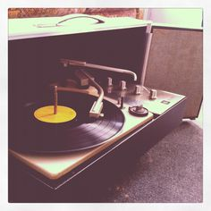 record players- You know you're getting old when the kids don't know what this was. Now called vinyl :-)