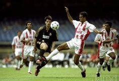 Partidos Historicos: Mundial de Clubes 2000 | REAL MADRID 1-1 NECAXA (3-4 Penales)... Markus Lopez, duro defensa necaxista.