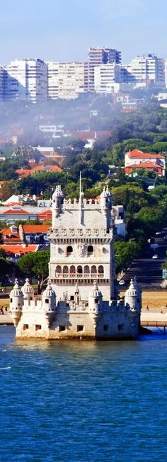 Tower of Belem Lisbon, Portugal   Amazing Photography Of Cities and Famous Landmarks From Around The World. Pin via http://mbsy.co/tailwind/18739029