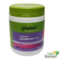 Planet Organic Psyllium Max Powder is 100% Australian certified organic and is derived from the outer coating of the psyllium seed. It is a natural, rich source of soluble dietary fibre. When taken daily, this powder helps to absorb water from your bowel to soften and bulk your stool to maintain regular motions.