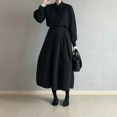 Classy Outfits, Pretty Outfits, Vintage Outfits, Modest Fashion, Hijab Fashion, Fashion Dresses, Turkish Fashion, Korean Fashion, Langer Mantel