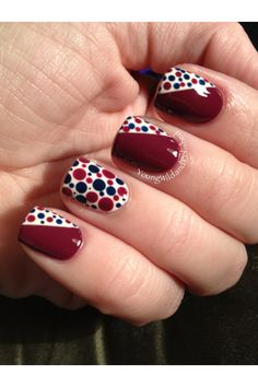 Dotticure with different colors
