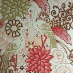 Wallpaper Design 'Garzas' reference 1280052 (10 metres x 53cms) #Paper Moon #Wallpaper #Catalina Estrada