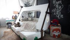 """A ideia é """"tentar"""" fugir do mais do mesmo. Vamos as inspirações de quartos infantis. #photo: Home Bliss"""