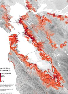 Map: Poverty in the Bay Area year 1999 http://appstore/iotmonitor