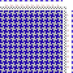 Hand Weaving Draft: Figure 107, A Manual of Weave Construction, Ivo Kastanek, 2S, 2T - Handweaving.net Hand Weaving and Draft Archive
