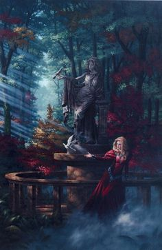 Pastoral - Thumbnail displaying a portion of the artwork of Jonathon Earl Bowser. See more artwork by this featured artist on the fantasy gallery website.