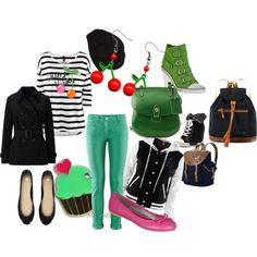 """Cherries"" by clampigirl on Polyvore"
