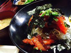 Maguro bowl