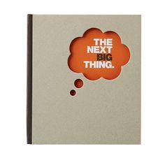 The Next Big Thing - Compendium doodle book, met quotes, inspiring, inspiration, inspiratie, kraft, cardboard, karton, oranje