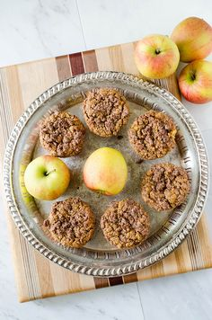 Apple Streusel Muffins (Gluten Free) | cooking ala mel by cookingalamel, via Flickr