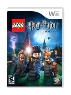 LEGO Harry Potter: Years - Nintendo Wii LEGO Harry Potter: Years brings the action, adventure and fun of the first 4 stories in the Harry Potter catalog Lego Harry Potter, Theme Harry Potter, Lego Games, Xbox 360 Games, Cry Anime, Anime Art, Nintendo Ds, Legos, Playstation