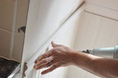 How to Install Beadboard Wainscoting - One Project Closer