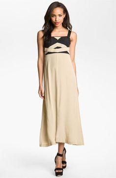 Kensie Seamed Bodice Maxi Dress | Nordstrom   O.D.?