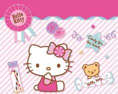 Cute! @Hello Kitty from http://www.sanrio.co.jp