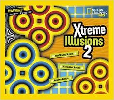 "A nice clever gift to enjoy with your children! ""Xtreme Illusions 2"", a book authored by visual artist Gianni A. Sarcone for National Geographic KIDS, still available on Amazon: http://www.amazon.com/dp/1426319746/?tag=archimelabpuz-20 The book version for European countries is called ""Super Optical Illusions"" and you can get it here: http://www.amazon.co.uk/dp/1783120851/?tag=archimedeslab-21 #kids #opticalillusion #illusion #Xtreme #giannisarcone #opticart #perplexingpuzzle #mind…"
