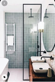 Yellow Wall Decor, Yellow Walls, Bathroom Design Small, Bathroom Interior Design, Small Bathrooms, Bathroom Designs, Interior Paint, Kitchen Interior, Shower Remodel
